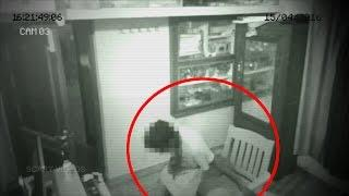 Chilling Video Of Ghost Pulling Chair Caught on CCTV Camera | Real Paranormal Activity | Scary Video