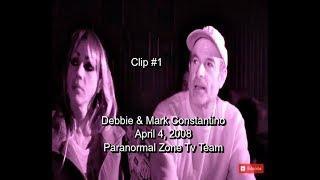 Paranormal Investigating | Debbie & Mark Constantino |  Found Footage | Clip 1