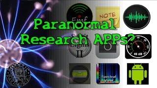 Paranormal Research / Ghost Hunting Android APPS ? (Most free) - Beoderic Paranormal Short