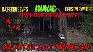 "HAUNTED & ABANDONED ""frank Lloyd Wright Mansion"" in Bartow Fl...(Spirits everywhere)!!"