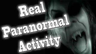Paranormal Activity - REAL Ghost In a Haunted House