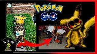 Existen Varios Sucesos Extraños e Inexplicables en Pokémon Go! que no Podrás Creer.