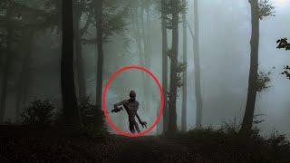 Real Forest Monster Caught On Camera!! Best Ghost Sightings