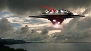 Real Footage Of Alien Walking Inside UFO Caught On Tape!!