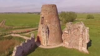 A HAUNTED WINDMILL AT ST BENET`S ABBEY