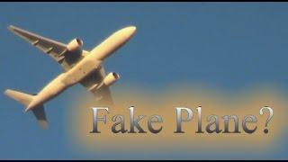 Hoax? - Fake Plane