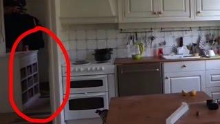 Ghost Shadow in the hall. Real paranormal evidence caught on tape. LaxTon Ghost Sweden Spökjägare