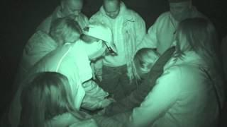 Fort Amherst ghost hunt - 21st March 2015 - Group 1 Seance