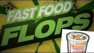 Free Iced Coffee at Dunkin' Donuts - Fast Food Flops