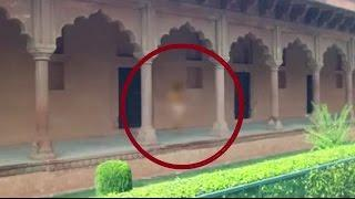GHOST CAUGHT IN INDIAN MONUMENT!! Peoples are spooked by GHOST Scary Videos
