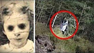 5 Tenebrosos Fantasmas Reales Captado en Video