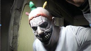KILLER CLOWN CAUGHT in an abandoned house (teaser trailer)
