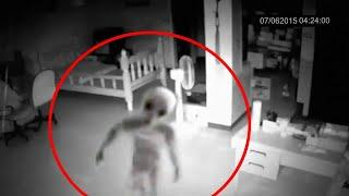 Is It Ghost or Alien ? Shocking Haunted Ghostly Figure Caught on Camera, Scary Videos