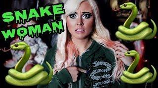SNAKE WOMAN! | SCARY JAPANESE URBAN LEGEND
