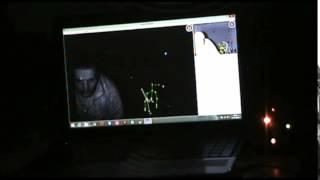 SCARY REAL FOOTAGE: My kinect First ever capture of a Entity. 14th Oct 2014