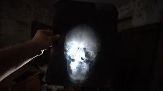 ABANDONED Training School Found X-ray Skull Pictures