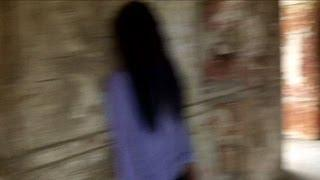 Real ghosts activity inside haunted castle: Real scary video