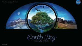 in classic Illuminati style NASA admits the earth is flat  on a 2011 earth day poster wake up people