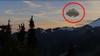 Real UFO Seen During Sunset!! Most Amazing UFO Sightings Caught On Camera At Perfect Time