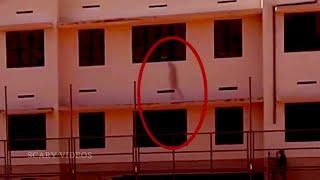 Ghost Caught On Tape While Walking Into A Building!! Ghosts!!