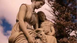 Creepy little girl monument @ Pine Grove Cemetery Manchester NH