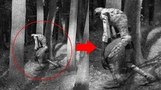 Ghost, Alien Or Bigfoot, Spine Chilling Video Caught On Forest CCTV Camera | Real Life Scary videos