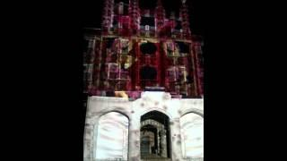 Waverly Hills Sanatorium laser light show :0)