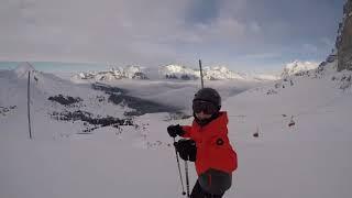 C'est cool à vivre une tempête de neige. #vlog de ski