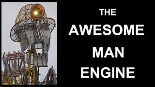 2 minutes of the The Man Engine in Cornwall
