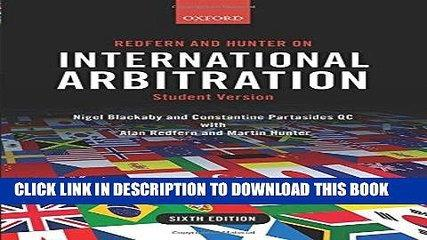 [PDF] Redfern and Hunter on International Arbitration Popular Colection