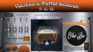 Vocibus Ghost Box & Portal Session in the Dark 9-10-15