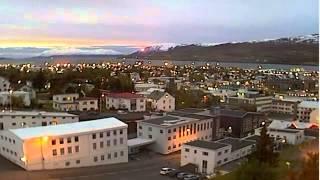 Ισλανδία 2013 Φοβερό βίντεο Μυστήριο φως κάνει βόλτες πάνω από τα σπίτια