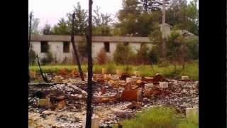 Fort Chaffee Remains after the Fire