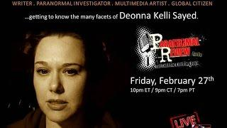 Paranormal Review Radio: Muslim in the Paranormal: Discussions w/ Deonna Kelli Sayed