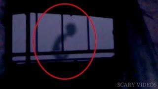 OMG!!!Ghost or Alien? Scariest Ghost Video Caught On Tape In Abandoned Building   Scary Videos