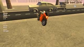 Turbo Dismount replay: 447 140 points on T-Junction! #turbodismount
