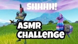 Fortnite ASMR Challenge!