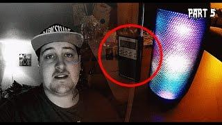 REAL Paranormal Activity Part 5 - GHOST SAYS HIS NAME