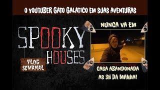 Análise Espiritual - Gato Galático - Casa Abandonada ás 3H da Manhã!