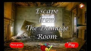 Escape From The Damage Room Escape 007 Games Walkthrough