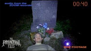 Testing out the Legend of Mr. Smiley's Grave at Midnight in Texas | THE PARANORMAL FILES