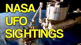 Shocking NASA UFO Sightings - Official Footage