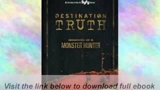 Destination Truth: Memoirs of a Monster Hunter E-Book