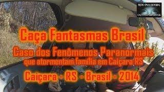 Caça Fantasmas Brasil Familia de Caiçara RS
