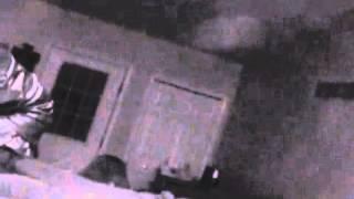 Paranromal investigation  ORB over shoulder