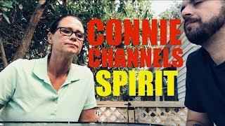 BAD Spirit tries Controlling session - Connie Channels