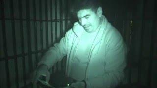 Vocibus Spirit Box App Session in Randolph Asylum Lock Up Cage