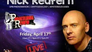 Paranormal Review Radio-Nick Redfern: UFO Phenomenon, Cryptozoology, and Mysterious Cases
