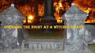 """SPENDING THE NIGHT AT A """"WITCHES GRAVE""""..AMAZING EVP'S FROM HER!!!"""