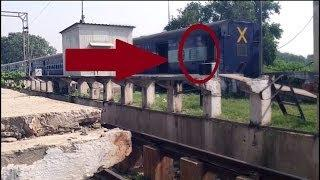 Ghost caught on camera at Haunted Train Platform!!! Must watch ghost caught tape Scary Videos